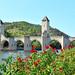 Pont Valentré at Cahors, France