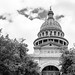 Texas State Capitol Building B&W #jcutrer