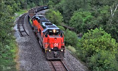 Bessemer & Lake Erie (Images by A.J.) Tags: train railroad railway rail transportation freight bessemer lake erie ble pennsylvania emd sd38ac sd40t3 tunnel motor butler saxonburg mcbride cn canadien canadian national steel thorn creek