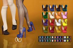NX-Nardcotix Nola Oxfords & Socks (Nardcotix) Tags: nxnardcotix nardyarousselot belleza maitreya collabor88 c88 88 mesh knit overknee slouchy relaxed socks sneakers shoes casual stilettos oxfords autumn suede footwear fabric cozy cute chic platform school student girly heels