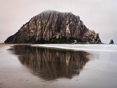 Morro Rock - Morro Bay, CA (Jun C Photography) Tags: morrobayrock olympus microfourthirds omd mkii ca sandiego hwy1 u43 californiacoast em5 markii morrobay mk2 mft