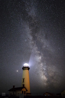 New Moon at Pigeon Point Lighthouse