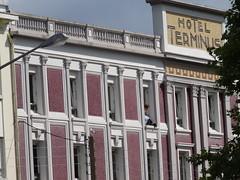 Hôtel Terminus (Jeanne Menjoulet) Tags: hôtelterminus façade architecture lorient bretagne