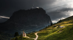 Chapel in the Dolomites (Dreamy Pixel) Tags: above adige alpine alps beauty blue chapel color colorful dolomites europe flowers gardena green heritage hiking italy landscape light meadow mountain mountains natural nature odle park pass passo peak people pic puez raiser range rocks sassolungo sassopiatto sella selva sky south summer travel trekking tyrol unesco val valley view viewed ngc