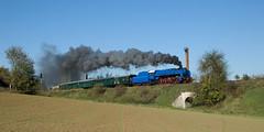 2007-10-14 Steam (beranekp) Tags: czech railway eisenbahn železnice dampf steam locomotive lokomotiva lokomotive