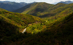 A Smattering of Fall (JasonCameron) Tags: autumn fall september colors road canyon drive ride