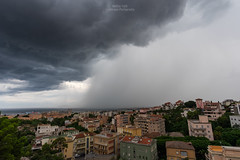Shelf cloud and downburst on Cagliari (Matteo Tidili Meteorologist) Tags: temporale tempesta thunderstorm storm stormchasing stormchaser sardegna sardinia shelf cloud cagliari italia italy landscape sea seascape sealife summer