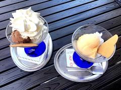 #icecream #Malaga #Chocolade #doublecream #Lemon #Apricot #yummy (RenateEurope) Tags: icecream
