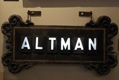 Altman (trekkie313) Tags: ohio funeral sign vintage victorian signboard art museum