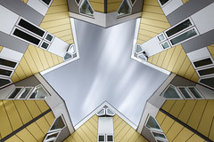 Hexagon (Robert_Franz) Tags: architecture architectural architektur abstract longexposure rotterdam netherlands modern futuristic fineart facade building exterior city urban