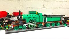 Getting nearer... (Britishbricks) Tags: loco engine train steam tender stirlingsingle wip gnr lego