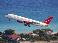 Royal Flight 757-200 VQ-BTM (birrlad) Tags: rhodes rho boeing b757 b752 757200 757256 royal flight vqbtm moscow sheremetyevo airport sea climbing