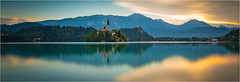 Lake Bled (Phil Durkin) Tags: 2018 lakebled rovinj bled sunrise reflection stillness magical calming