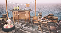 Breeze & Drinks (N.O.X) Tags: bar beach breeze drinks