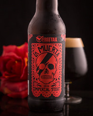 Freetail - 2016 La Muerta Imperial Stout (singinkang) Tags: beer beveragephotography product beverage stout craftbeer brewery alcohol
