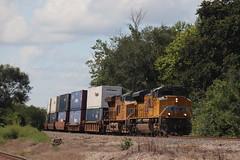 58912 (richiekennedy56) Tags: unionpacific sd70ace es44ac up8991 up2554 camden missouri raycountymo railphotos unitedstates usa
