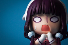 Maika Sakuranomiya (GuiltyKnights) Tags: maika sakuranomiya blends toy photography figure figurine pvc goodsmile photoshoot lightroom anime girl twintail purple hair sadistic yandere maid waiter headband chibi nendroid kawaii cute