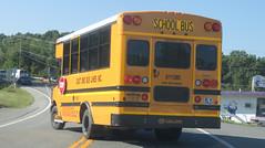 East End Bus Lines Inc. #01112WC (ThoseGuys119) Tags: eastendbuslines orangecountytransitllc schoolbus maybrookny 2018 propane gasoline birdbus