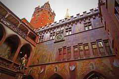 Lucius Munatius Plancus in Basler Rathaus (Johnson Hung) Tags: canon canon70d basel switzerland luciusmunatiusplancus marktplatz