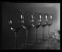 Still life with wineglasses (shminkeaa) Tags: analogphotography fomapan100 stilllife wineglasses glass largeformat filmdev:recipe=12041 fomafomapan100 fomafomadonr09 film:brand=foma film:name=fomafomapan100 film:iso=100 developer:brand=foma developer:name=fomafomadonr09