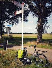 There's no Neede 4 that! (katy1279) Tags: cyclingtourdenetherlandscyclingheavenroadsigncycleroutesigndadjokes