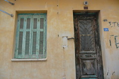 house No.56 (Hayashina) Tags: zakynthos greece door window texture closed 56