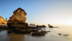 Praia Dona Ana (crissell) Tags: landscape algarve portugal dona ana praia nikon nikond5200 tokina 1116 haida haidand6stops gnd 12 sunrise