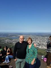 08/09/18 - Visita à Imbé e Osório com Fofonka, candidato a deputado estadual. No Morro da Borússia.