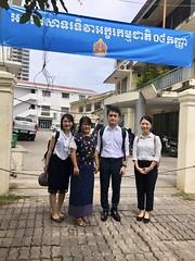 Internship at MoEYS, Cambodia