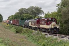 Oh Hey OSR (Joseph Bishop) Tags: osr osrx 1594 emd gp9 ontariosouthlandrailway cpstthomassubdivision woodstock trains train t track tracks railfan railroad railway rail rails