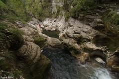 Guy dans le Canyon De Malvaux - Jura (francky25) Tags: guy dans le canyon de malvaux jura foncine bas karst rivière franchecomté explo