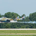 The DeHavilland Vampire is low but not slow