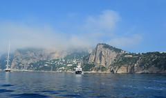 Capri cruise II. (sunsetsára) Tags: travelling travel nikon nature italy italia capri island trip cruise ship boat landscape