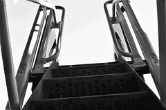 Ascent (Twila1313) Tags: steps ladder slide children child park playground monochrome blackandwhite blackwhite bw flickrfriday pointofview