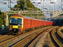 Post Haste (simonjohn4) Tags: class325emu 325015 325016 rugeleytrentvalleystation royalmail willesden shieldmuir mailterminal