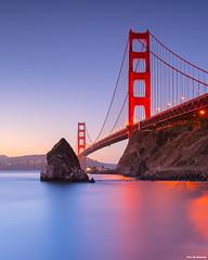 Golden Gate Bridge (davidyuweb) Tags: golden gate bridge 金門大橋 三藩市 longexposure fort baker