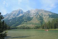 I ♥ Grand Teton National Park! (Bob B1981) Tags: grandtetonnationalpark nationalpark mountain hike lake stringlake canoe wyoming leighlakehike heart