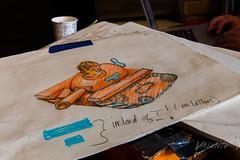2018 Buskers in the Burg, Workshop (Dennis Valente) Tags: 2018 buskersintheburg usa washington art drawing ellensburg giantpuppet winduptoy toytank 5dsr pnw design workshop puppet militaryparade puppetry trump