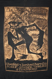 Edgar Allan Poe T-Shirt ( Early 1990's )