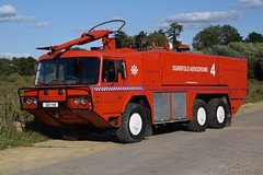 1st Defence - Q211YAB (matthewleggott) Tags: 1st defence fire rescue engine appliance q211yab scammell super major mk12a crt crash truck