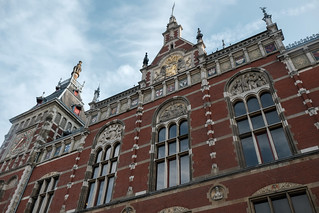 Amsterdam Centraal Station, Amsterdam, the Netherlands, Europe