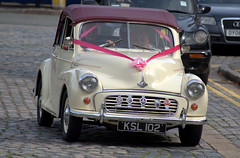 Wedding in Liverpool (Tony Worrall) Tags: liverpool merseyside wedding scouse city happy event stgeorgeshall wed woman female car vehicle morrisminor travel relic vintage welovethenorth nw northwest update place location uk england north visit area attraction open stream tour country item greatbritain britain english british gb capture buy stock sell sale outside outdoors caught photo shoot shot picture captured