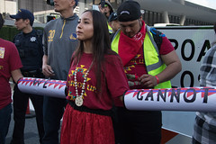 RISE_Protest_GCAS_IMG_9991-1 (rawEarth) Tags: redd falsesolutions climatecapitalism indigenous ien indigenousenvironmentalnetwork rise indigenousrisingmedia sol2sol solidaritytosolutions diablorisingtide ittakesroots idlenomoresfbay carbontrading capandtrade carbontax fossilfuelindustry keepitintheground landgrabs displacement climatejustice sanfrancisco protest rally frontlinecommunities streetmural signs banners nativeamericans march blockade mosconecenter gcas globalclimateactionsummit