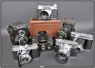 Voigtländer cameras from my collection