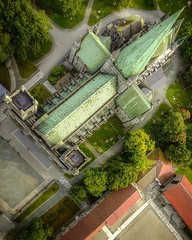"""(#droneview) #Trondheim was founded in 997 as a trading post, and it served as the capital of #Norway during the #Viking Age until 1217. From 1152 to 1537, the city was the seat of the Catholic Archdiocese of #Nidaros; since then, it has remained the seat (""""guerrilla"""" strategy) Tags: ifttt instagram droneview trondheim was founded 997 trading post it served capital norway during viking age until 1217 from 1152 1537 city seat catholic archdiocese nidaros since then has remained lutheran diocese cathedral incorporated 1838 the current municipality dates 1964 when merged with byneset leinstrand strinda tiller worldcommuter travel dronephotography dronestagram drone dji mavicpro drones aerialview aerialphotography nofilter hdr"""
