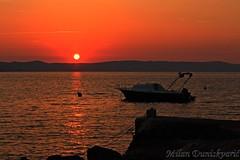Karlobag (mdunisk) Tags: zalazak zaton kravljak kašt kotari karlobag pag ljeto sunce čamac mdunisk žumberak more