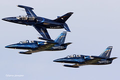 Sparflex team (Aviation and more) Tags: merville airshow 2018 france demo display airshows event explore inexplore aviation avg avgeeks airplane aircraft military canon canon7dmkii canonphotography photography sky power armée meetingdelair vliegtuigen vliegtuig avion avions sparflex l39 albatros jet jetfighter fighterjet blue team patrouille