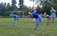 Highland Dancers Sword Dance