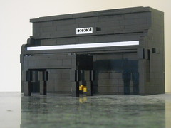 The Piano (ToaTimeLord) Tags: piano afol lego system muisc