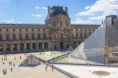 Light reflections (IngridGómezC) Tags: museum art paris french louvre sky historic seine collection gallery canon photography travel photo